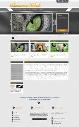 Paramount Veterinarian Website Template