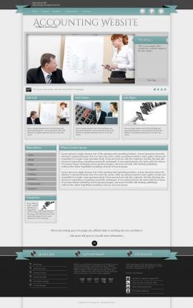Strength Accounting Website Template