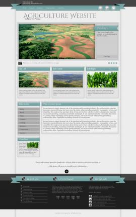 Strength Agriculture Website Template