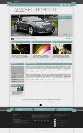 Strength Automobile Website Template