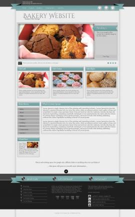 Strength Bakery Website Template