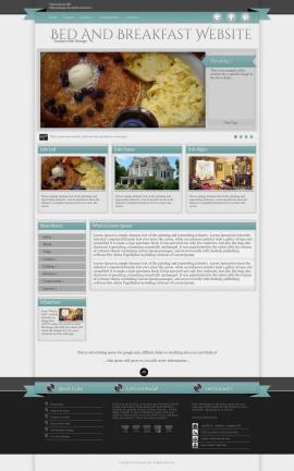 Strength Bed-and-breakfast Website Template