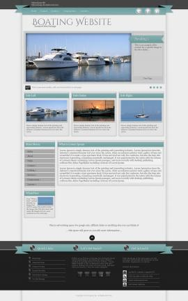 Strength Boating Website Template