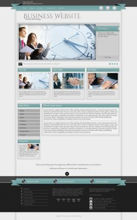 Strength Business Website Template
