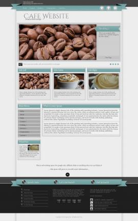 Strength Cafe Website Template