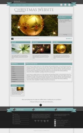 Strength Christmas Website Template