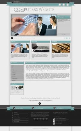 Strength Computers Website Template