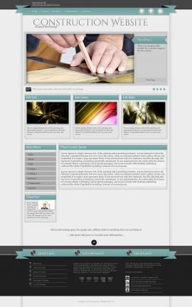 Strength Construction Website Template