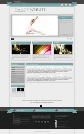 Strength Dance Website Template