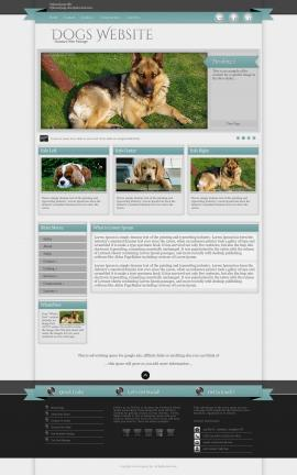 Strength Dogs Website Template