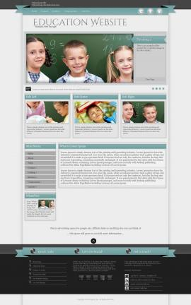 Strength Education Website Template