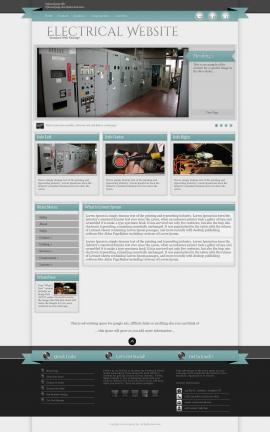Strength Electrical Website Template