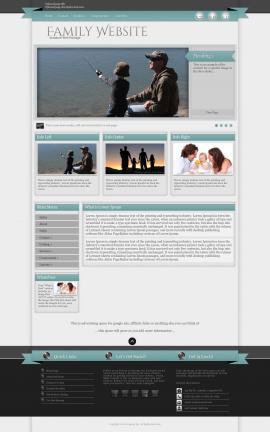 Strength Family Website Template