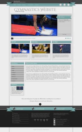 Strength Gymnastics Website Template
