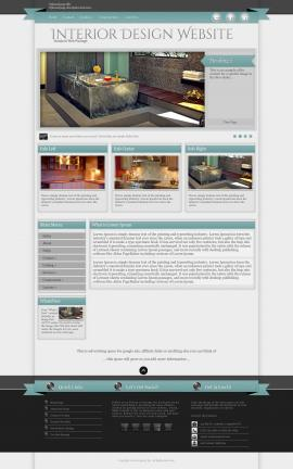 Strength Interior-design Website Template