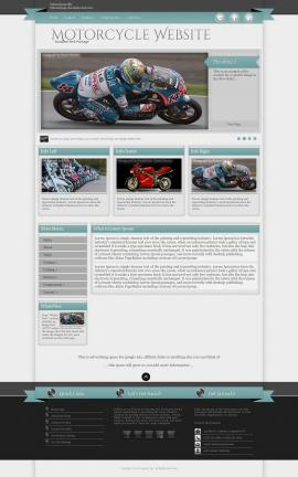 Strength Motorcycle Website Template
