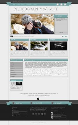 Strength Photography Website Template