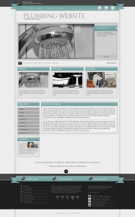 Strength Plumbing Website Template