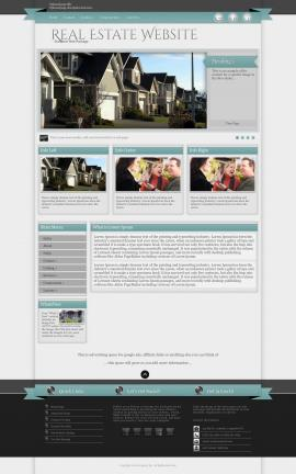 Strength Real-estate Website Template