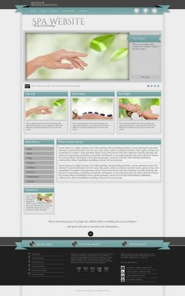Strength Spa Website Template