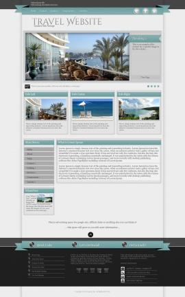 Strength Travel Website Template