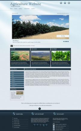 Virtue Agriculture Website Template