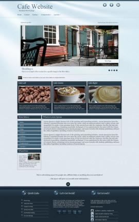 Virtue Cafe Website Template
