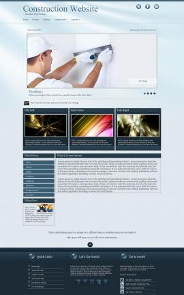 Virtue Construction Website Template
