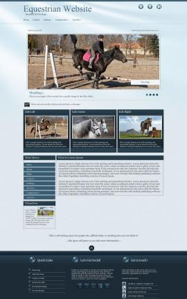 Virtue Equestrian Website Template