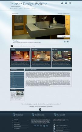 Virtue Interior-design Website Template