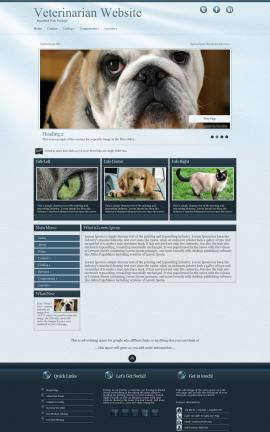 Virtue Veterinarian Website Template