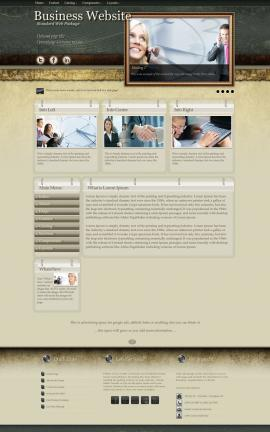Evolution Business Website Template