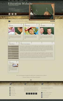 Evolution Education Website Template