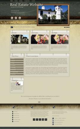 Evolution Real-estate Website Template