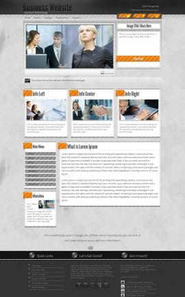 Innovation Business Dreamweaver Template