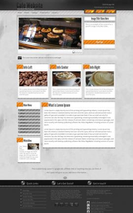 Innovation Cafe Website Template
