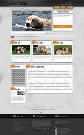 Innovation Dogs Website Template
