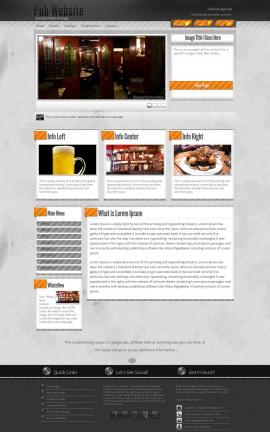 Innovation Pub Website Template