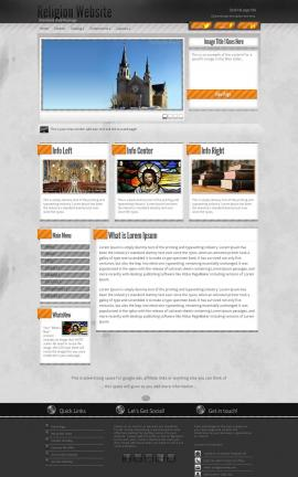 Innovation Religion Website Template