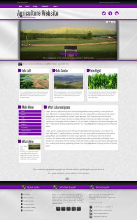 Impression Agriculture Website Template