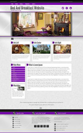 Impression Bed-and-breakfast FP2003 Template