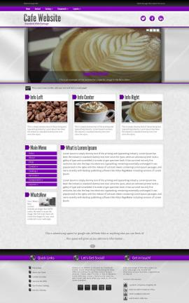 Impression Cafe Website Template