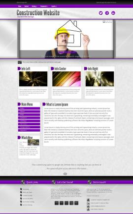 Impression Construction Website Template