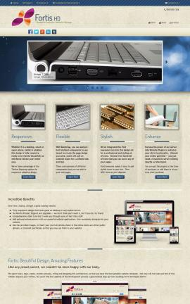 Fortis Computers Dreamweaver Template