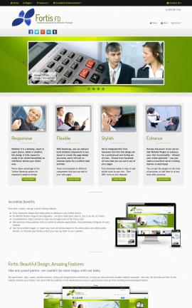 Fortis Accounting Website Template