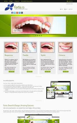 Fortis Dental Website Template