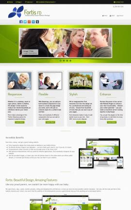 Fortis Real-estate Website Template