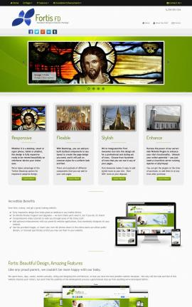 Fortis Religion Website Template