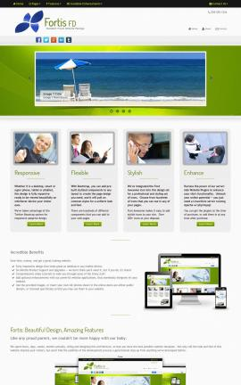 Fortis Travel Website Template