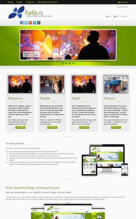 Fortis Videography Website Template